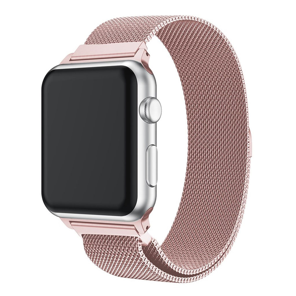 Bilde av Apple Watch 38mm Unique Stainless Steel Watch Band - Rose Gold