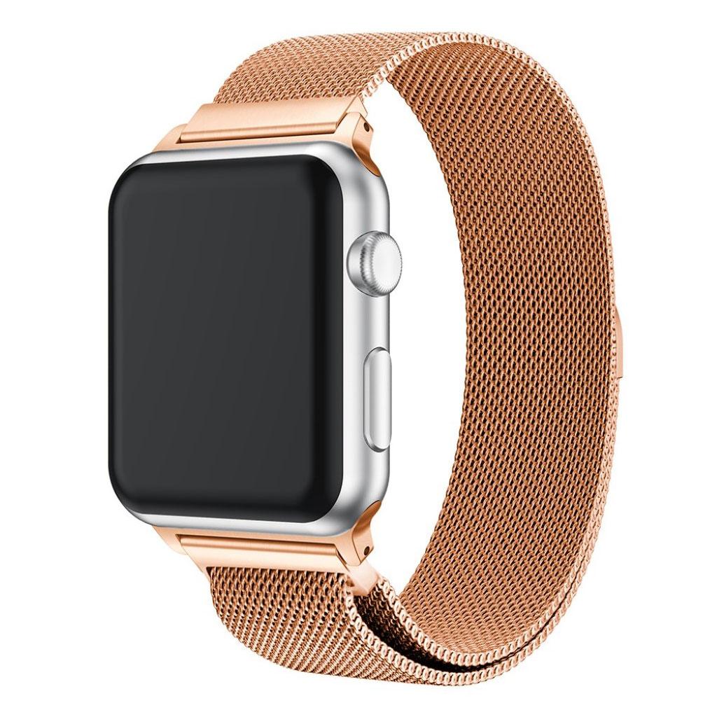 Bilde av Apple Watch 38mm Unique Stainless Steel Watch Band - Champagne Gold