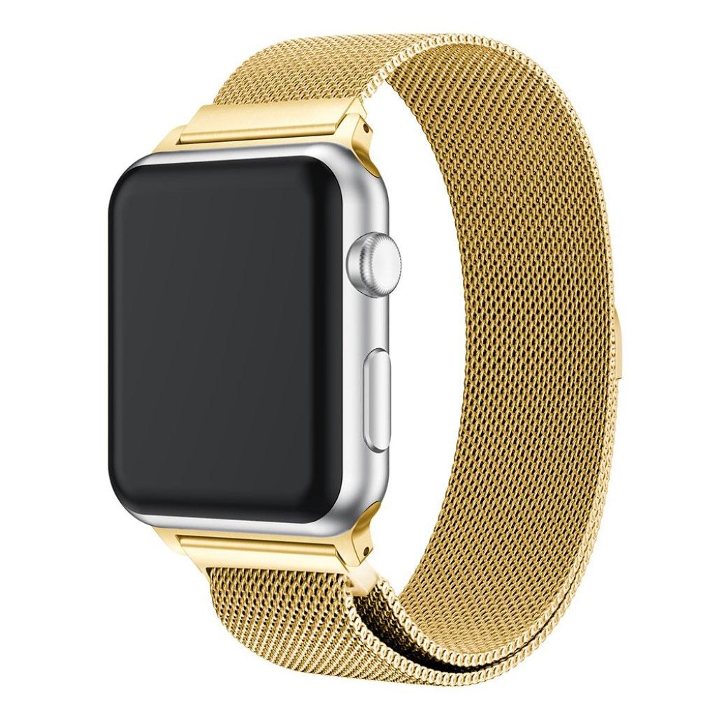 Bilde av Apple Watch 38mm Unique Stainless Steel Watch Band - Gold