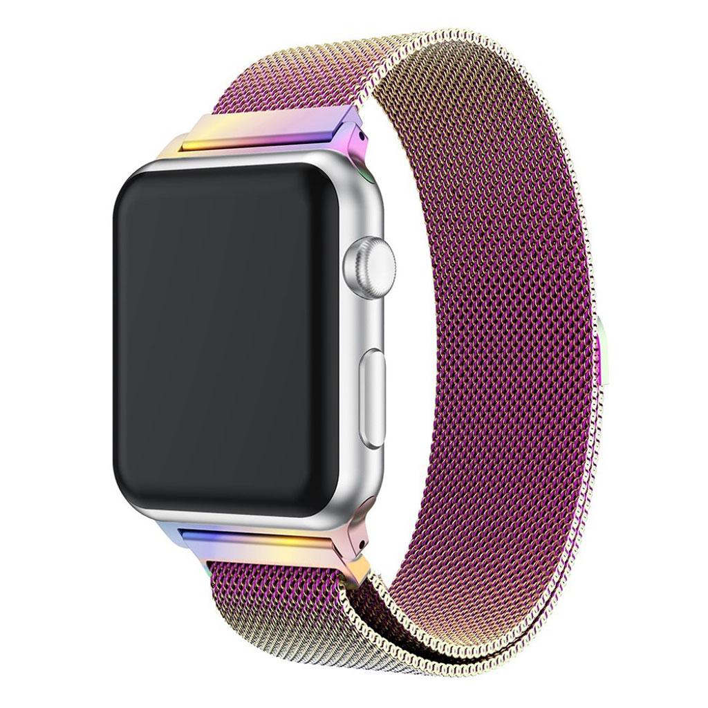 Bilde av Apple Watch 38mm Unique Stainless Steel Watch Band - Multi-color