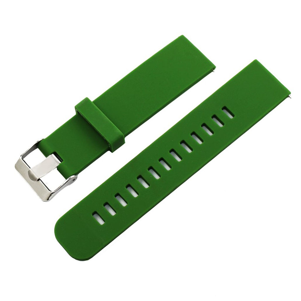 Bilde av 18mm Asus Zenwatch 2 Small Silicone Watch Band - Green