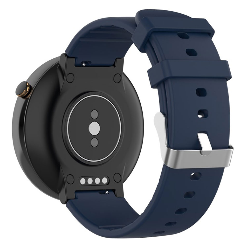Bilde av Amazfit Stratos 2 / 2s Silicone Watch Band - Dark Blue
