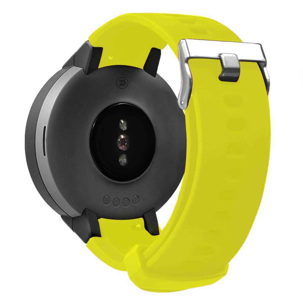 Bilde av Amazfit Verge 3 Silicone Watchband - Yellow