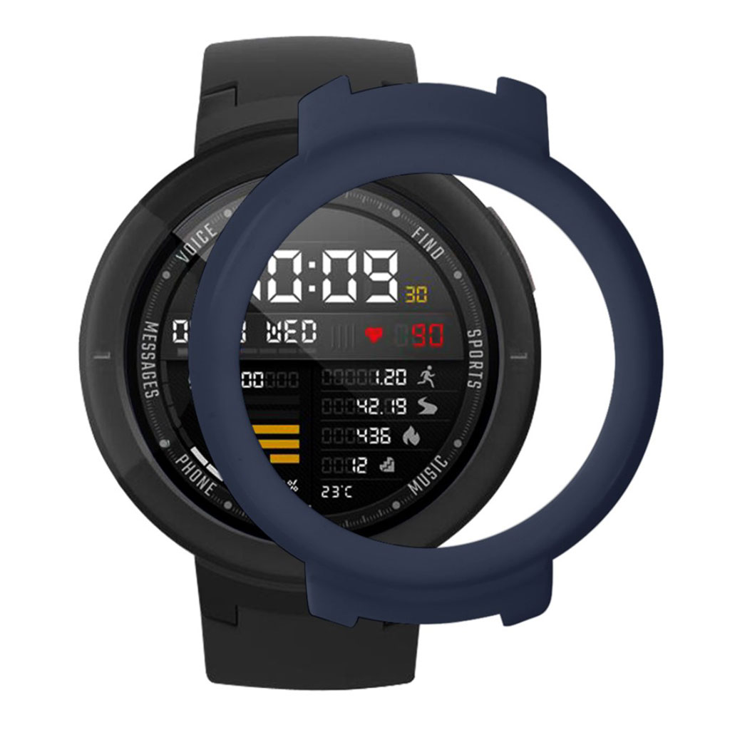 Bilde av Huami Amazfit Verge 3 Simple Case - Dark Blue