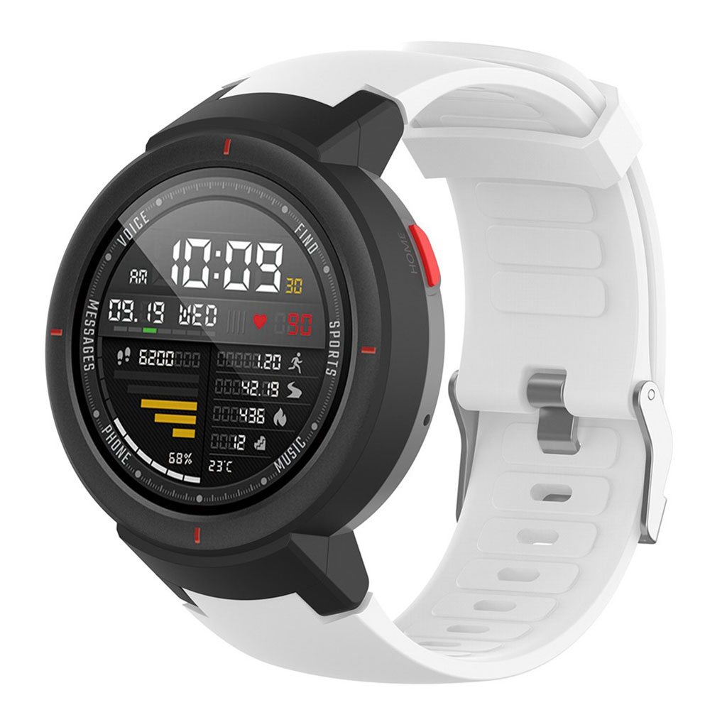 Bilde av Amazfit Verge 3 Silicone Watch Band - White