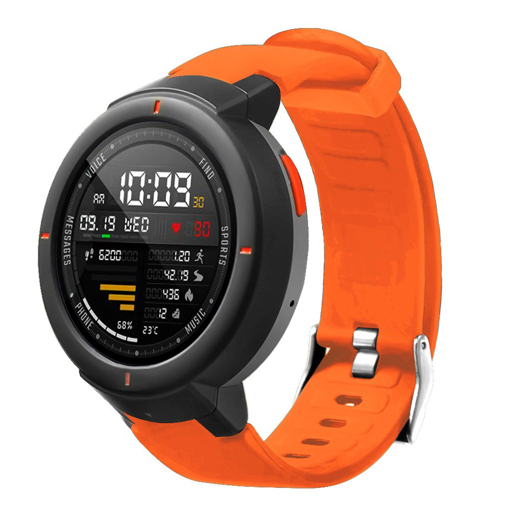 Bilde av Amazfit Verge 3 Silicone Watch Band - Orange
