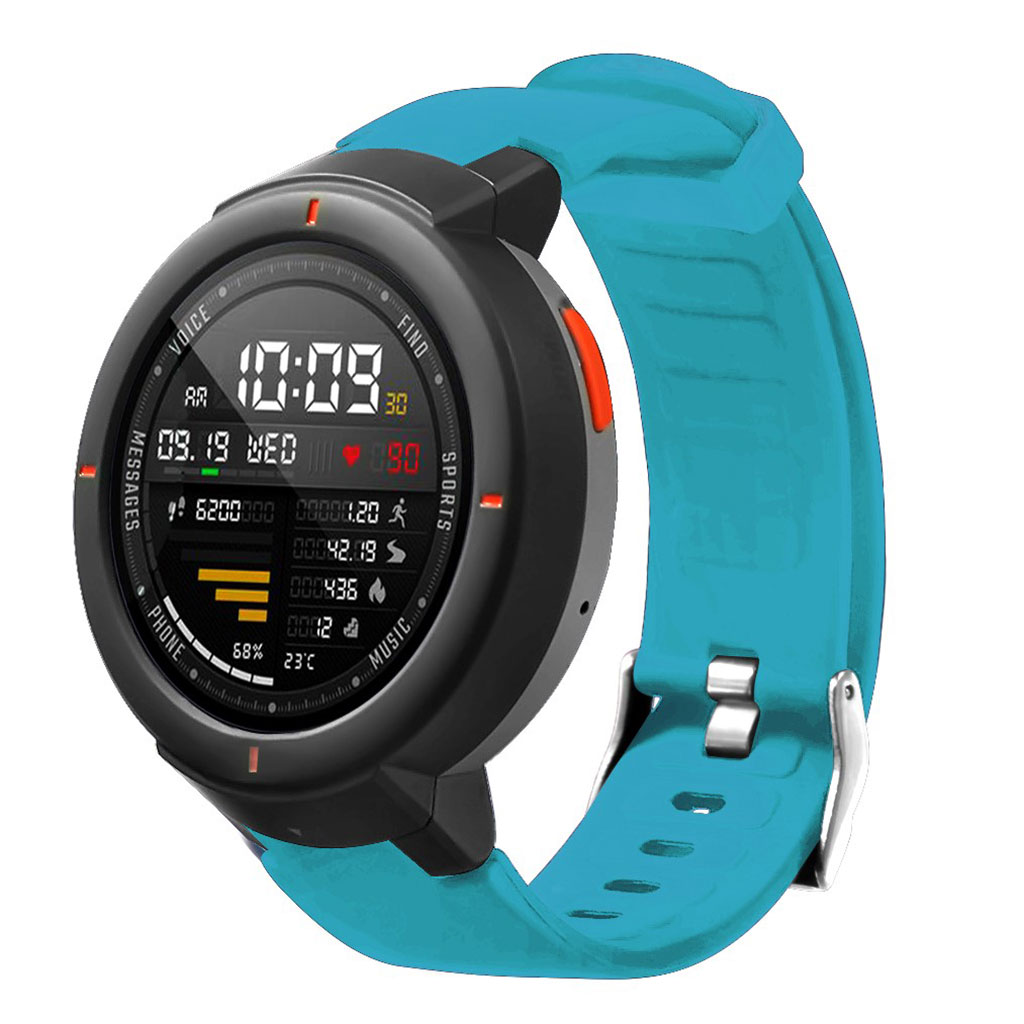 Bilde av Amazfit Verge 3 Silicone Watch Band - Baby Blue