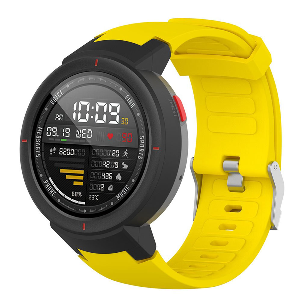 Bilde av Amazfit Verge 3 Stainless Steel Watch Band - Yellow