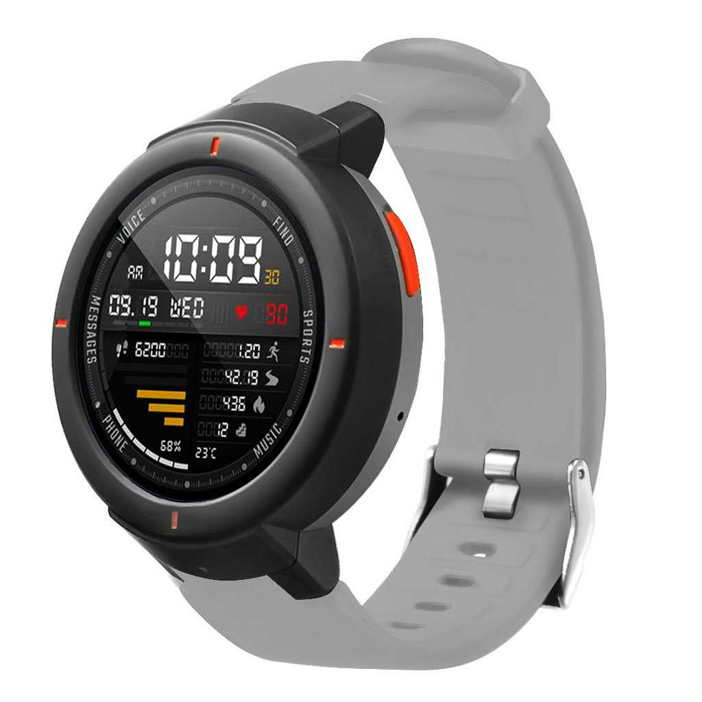 Bilde av Amazfit Verge 3 Silicone Watch Band - Grey