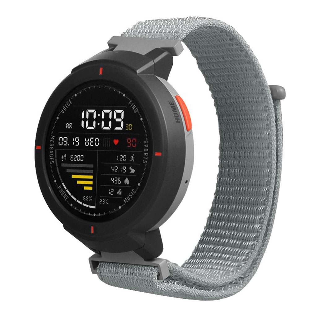 Bilde av Amazfit Verge 3 Velcro Nylon Watch Band - Grey