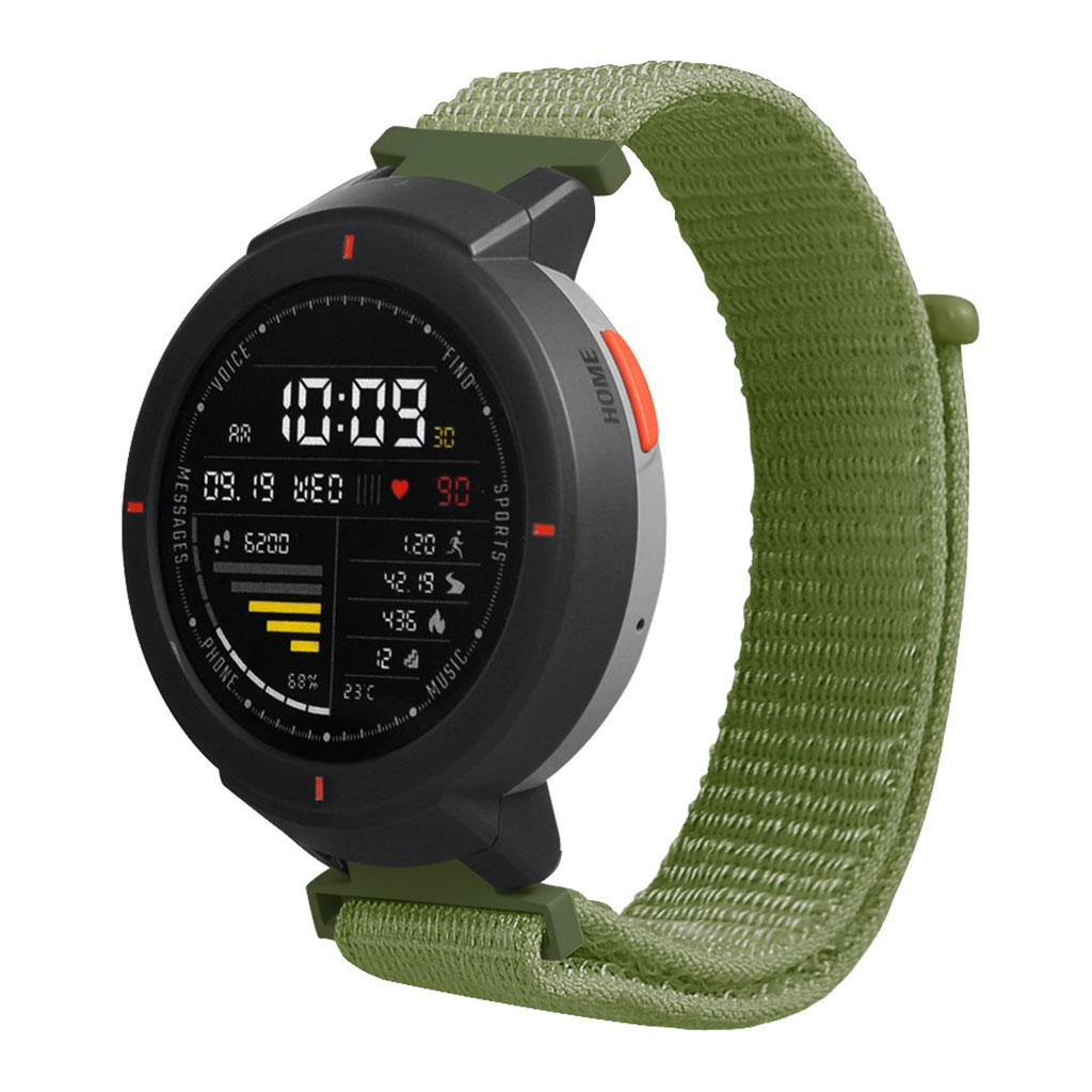 Bilde av Amazfit Verge 3 Velcro Nylon Watch Band - Green