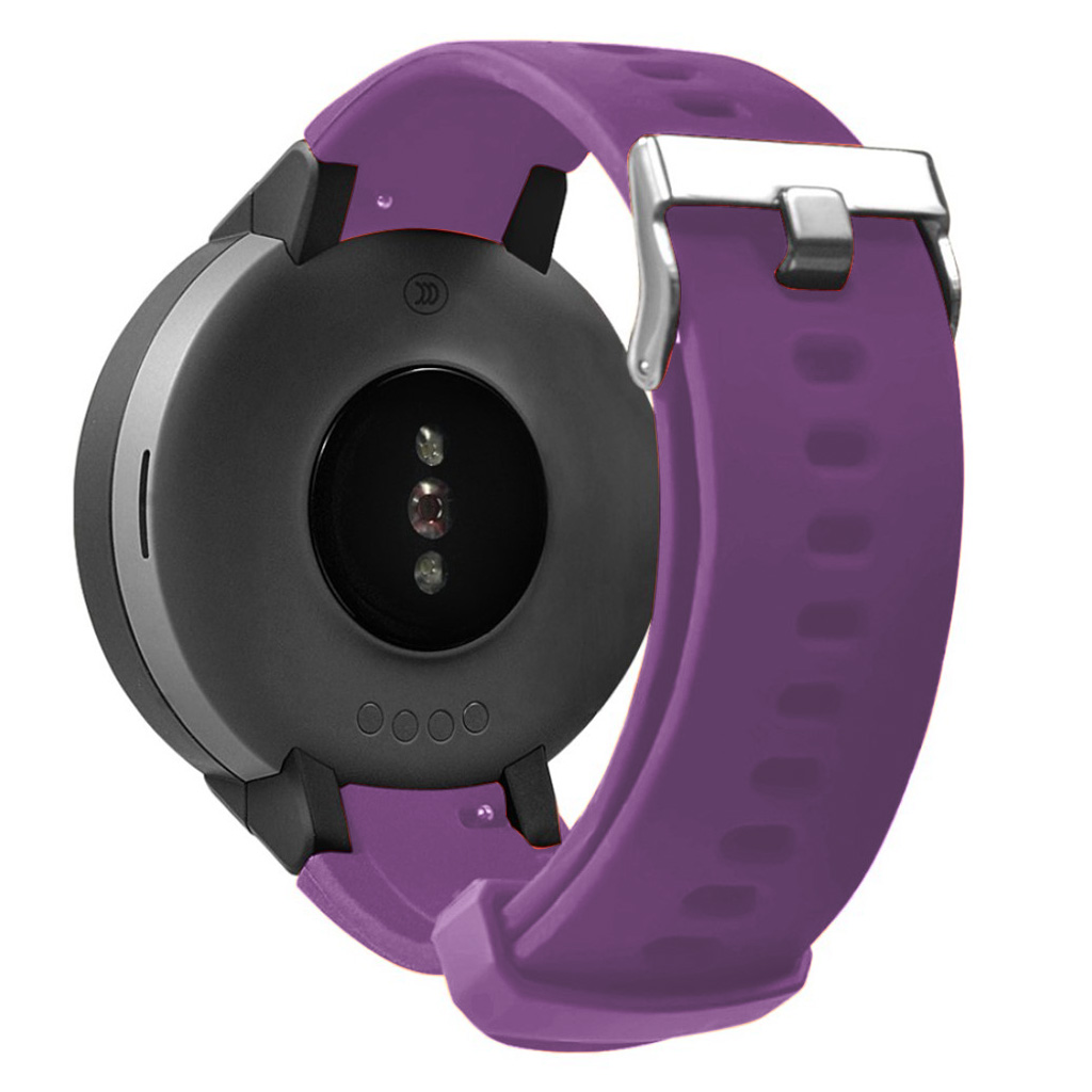 Bilde av Amazfit Verge 3 Silicone Watch Band - Purple